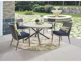 Wildon Home Parsons Patio Dining Chair with Cushion (Set of 4