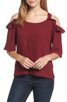 KUT from the Kloth Women's Akane Cold Shoulder Top
