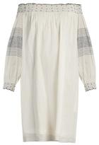 Velvet by Graham & Spencer Deandria off-the-shoulder cotton dress