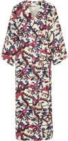 Elizabeth and James Howe Floral-print Silk Maxi Dress - Ivory