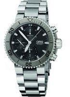 Oris Aquis Chronograph Watch 01674765572530782675PEB