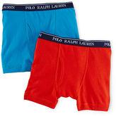 Ralph Lauren Cotton Boxer Brief 2-Pack