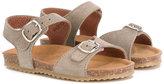 Pépé Kids - buckle detail sandals - kids - Leather/Suede/rubber - 22