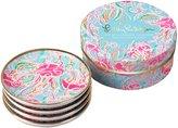 Lilly Pulitzer Ceramic Coaster Set, Jellies Be Jammin