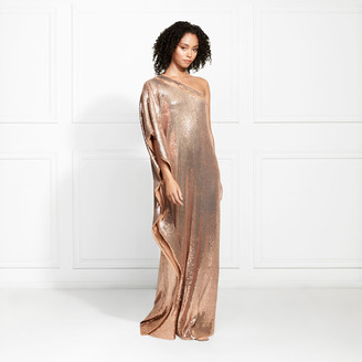 Rachel Zoe EXCLUSIVE Hero One Shoulder Fluid Sequin Caftan