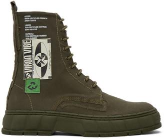 Virón Khaki Upcycle 1992 Boots