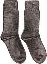 Ann Demeulemeester Copper Laminated Socks