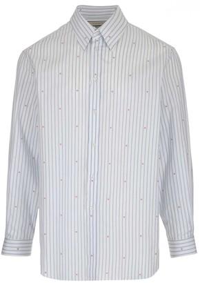 Gucci Striped G Monogram Shirt