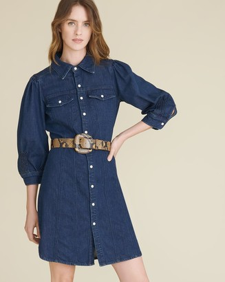 Veronica Beard Evalyn Denim Dress