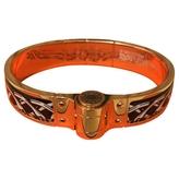 Hermes Black Metal Bracelet