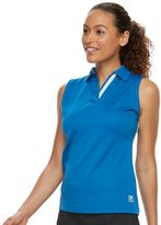Women's FILA SPORT® Contrast Sleeveless Golf Polo