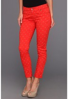 Vince Camuto TWO by Shorty Jean In Floral Stars in Fiery Red (Fiery Red) - Apparel