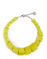 Jaeger Renee Resin Cube Necklace