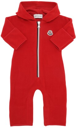 Moncler Hooded Fleece Romper