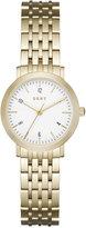 DKNY Women's Dress Case Gold-Tone Stainless Steel Bracelet Watch 28mm NY2510