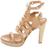 Rag & Bone Leather Round-Toe Sandals