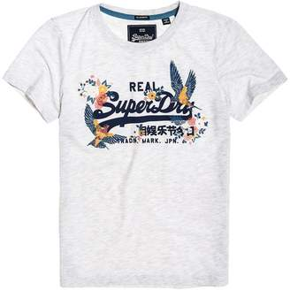Superdry Vintage Logo T-Shirt with Short-Sleeves
