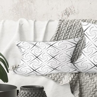 East Urban Home Minimal Pattern III Lumbar Pillow