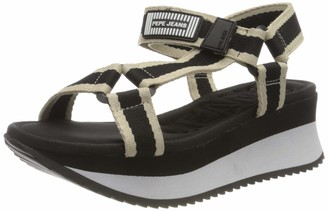 Pepe Jeans Women's Fuji River Platform Sandals
