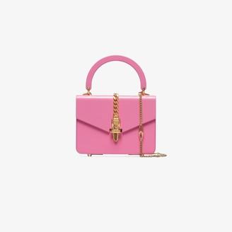 Gucci Pink Sylvie Mini Plexus Tote Bag
