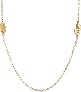 Lulu Frost Code 18Kt Palm Necklace
