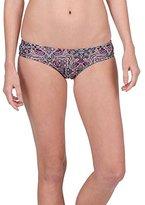 Volcom Women's Sea La Vie Boho Print Cheeky Bikini Bottom