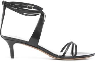 Isabel Marant Ankle-Strap Kitten-Heel Sandals