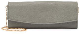 Urban Expressions Vegan Leather Envelope Chain Clutch