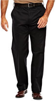 Izod Wrinkle-Resistant Flat-Front Twill Pants-Big & Tall