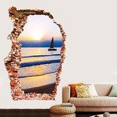 PinWei 3D creative bedroom living room wall stickers stickers