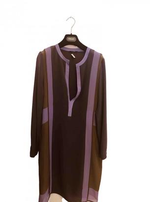 Ohne Titel Purple Silk Dress for Women