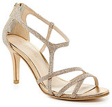 Pelle Moda Ruby Metallic Strappy Dress Sandals