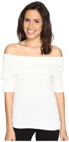 Brigitte Bailey Ria Ribbed Off the Shoulder Sweater