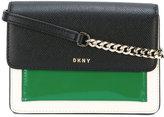 DKNY colour-block cross body bag