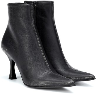 MM6 MAISON MARGIELA Leather ankle boots