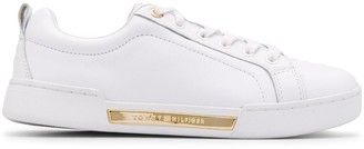 Tommy Hilfiger Logo Plaque Sneakers
