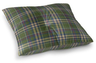 "Hogan Loon Peak Plaid Floor Pillow Loon Peak Size: 30"" H x 30"" W"