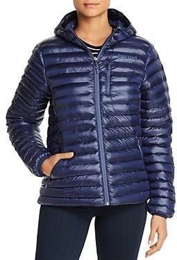 Marmot Avant Featherless Hooded Short Puffer Coat