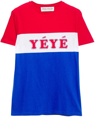 Être Cécile Yeye Girls Printed Cotton-jersey T-shirt
