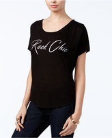 William Rast Stefani Rock Chic Graphic T-Shirt