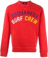 DSQUARED2 Surf Crew sweatshirt - men - Cotton - S
