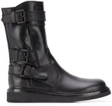 Ann Demeulemeester buckled-strap ankle boots