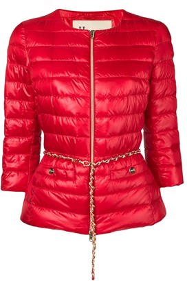 Herno Belted Quilted Jacket