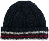 Thom Browne cable knit hat