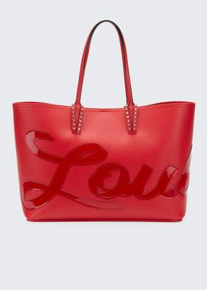 Christian Louboutin Cabata Logo Empire Leather Tote Bag