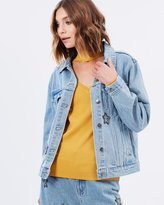 MinkPink Cosmos Crystal Patch Jacket