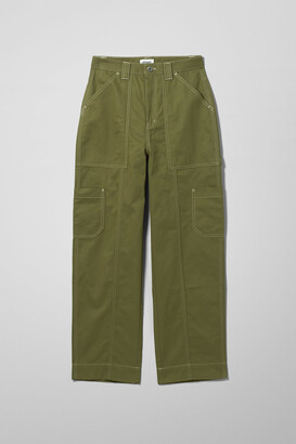 Weekday Grow Trousers - White