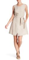 Three Dots Emalia Sleeveless Linen Dress