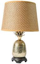 One Kings Lane Vintage,  Lamp, Gold/brown/Shade, Tan, In Stock