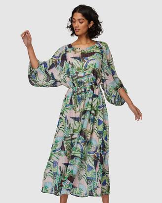 gorman Winter Garden Long Dress